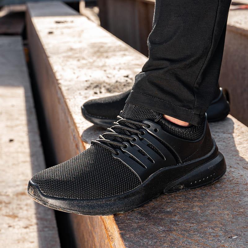 霧隱黑鋼鐵防水鞋 10