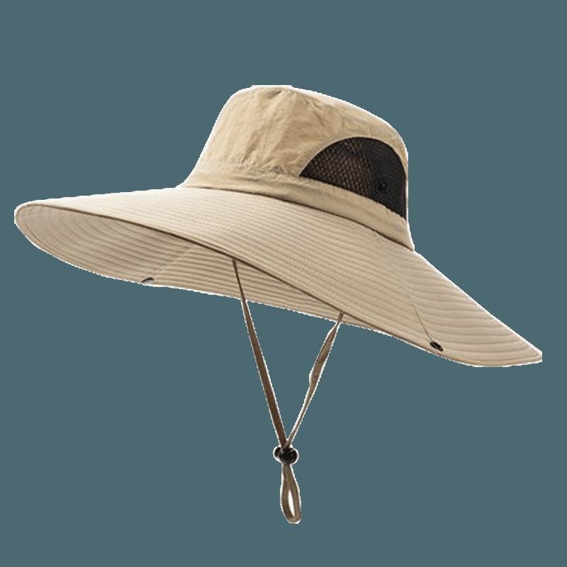 戶外防曬工地釣魚遮陽帽 17