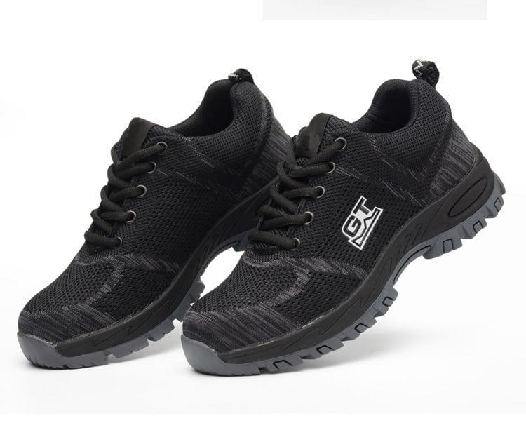 3D透氣鋼板工作安全鞋 16