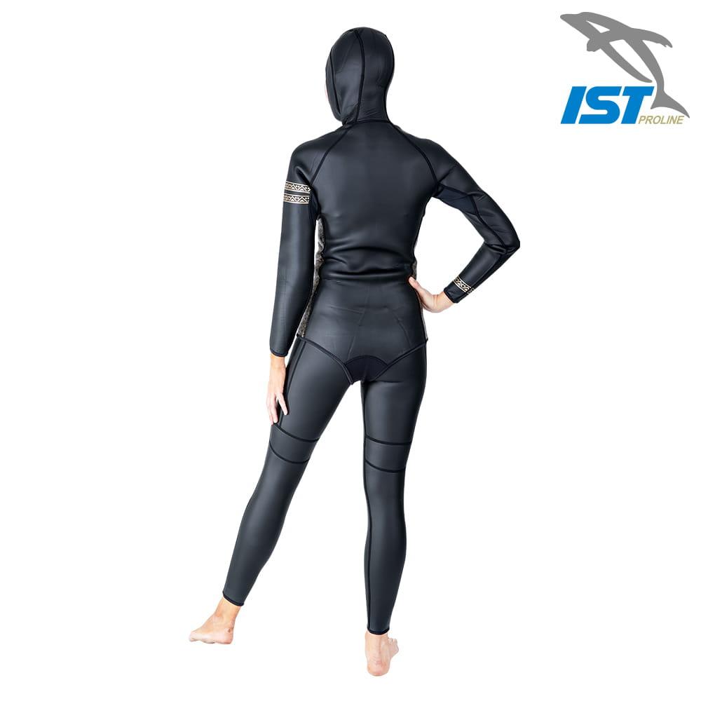 【IST】WSH-03 二件式Neoskin自由潛水防寒衣 14