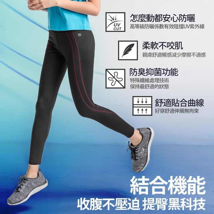 【BeautyFocus】高機能塑體運動壓力褲7203-7 6