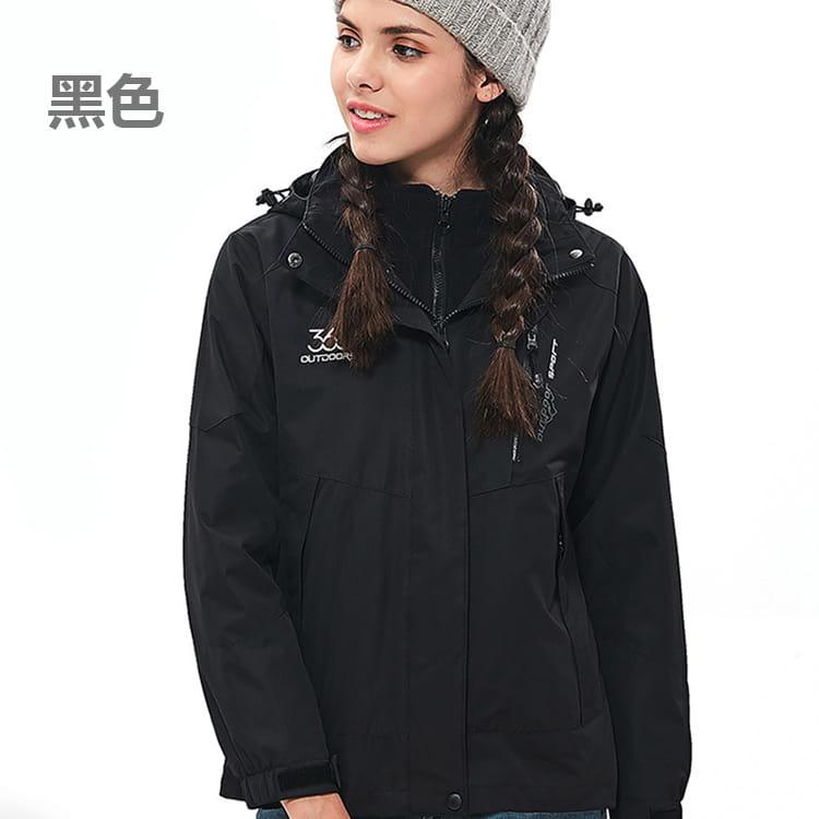 防水保暖禦寒衝鋒外套|三穿 11