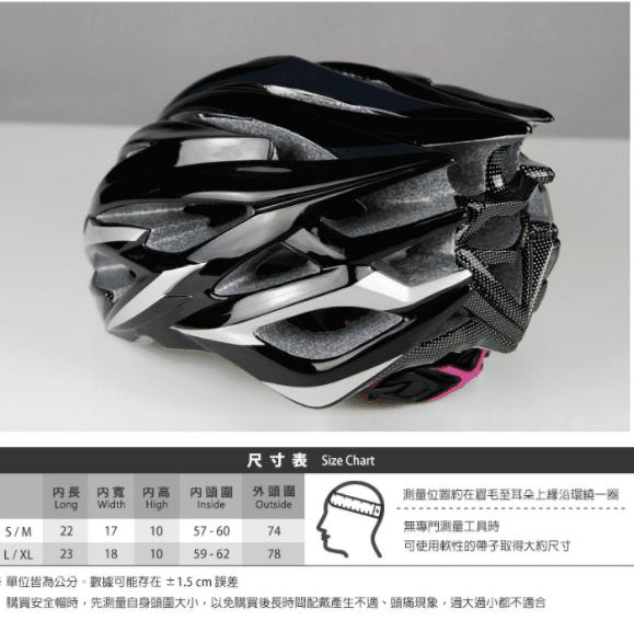 BAISKY輕量化安全帽 亮光黑 5