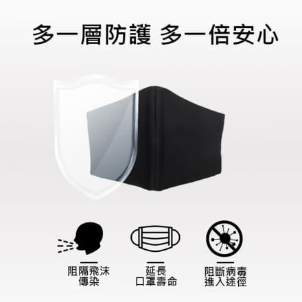 【MIT】吸濕排汗口罩套(3入組) 1