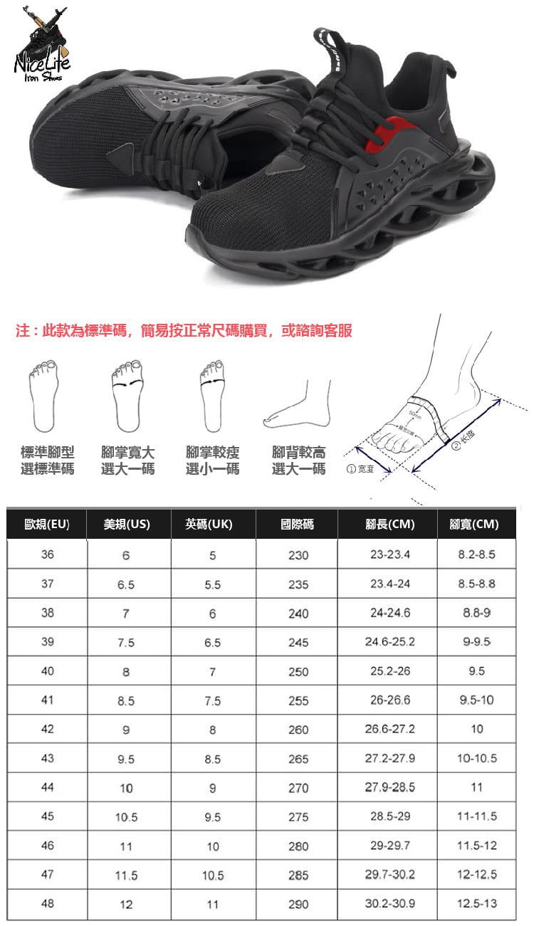 【尼斯生活】黑彈簧機能鋼鐵鞋 1