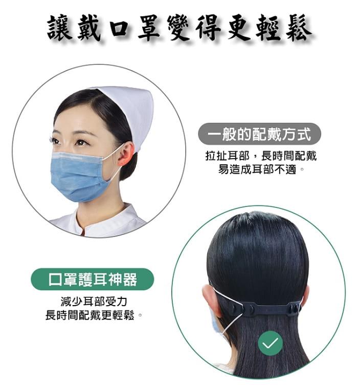 調節式口罩減壓帶 1