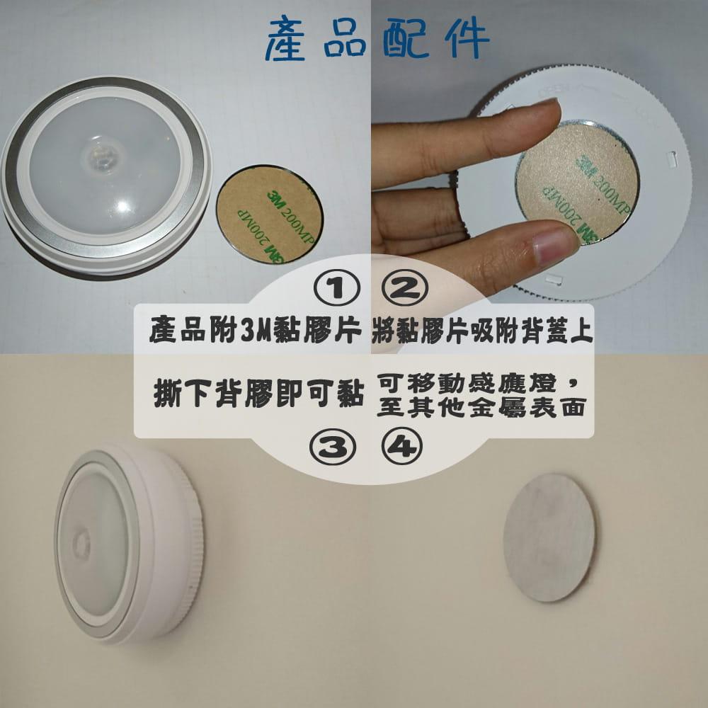 360度磁吸LED紅外線人體感應燈(暖白光) 5