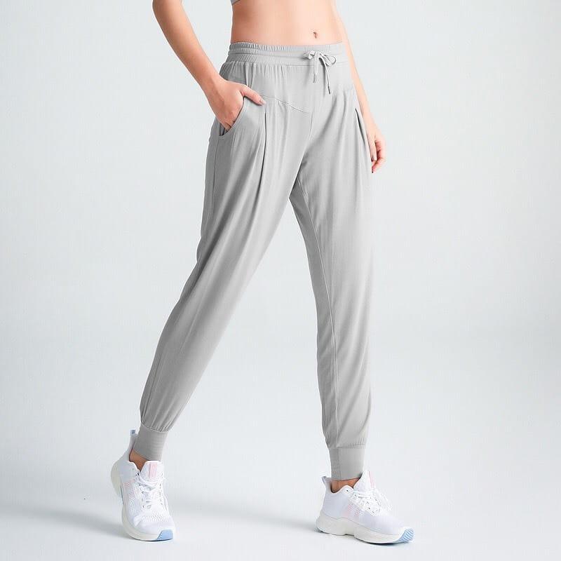 【JAR嚴選】速乾透氣哈倫褲瑜珈褲九分褲 19