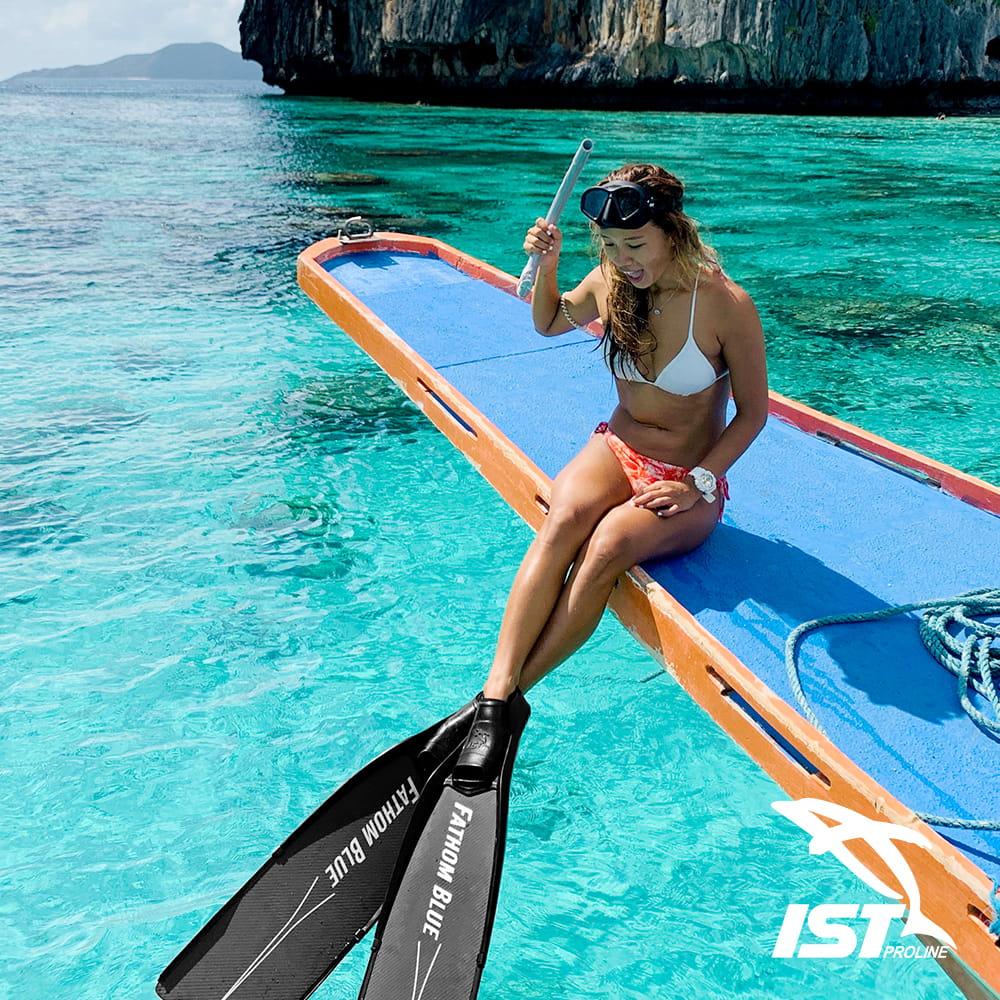 【IST】CS36 - HUNTER自由潛水新手套組 - 加贈環保網袋 10