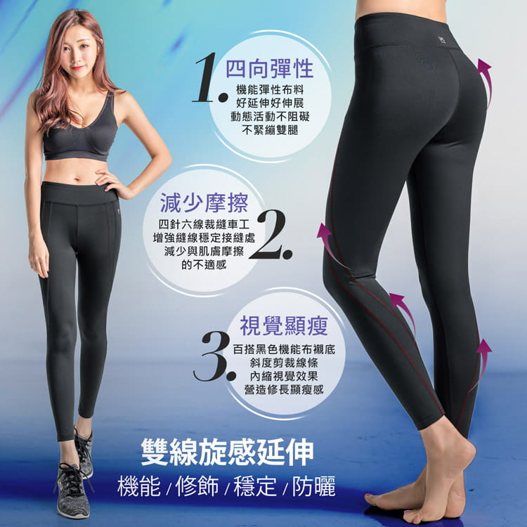 【BeautyFocus】高機能塑體運動壓力褲7203-7 5