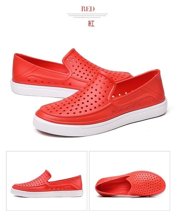 【JAR嚴選】EVA防水透氣輕量洞洞水陸兩用鞋 7