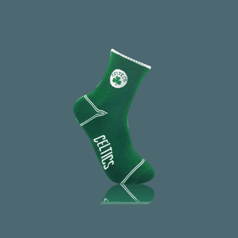 【NBA】球隊款緹花中筒襪 13