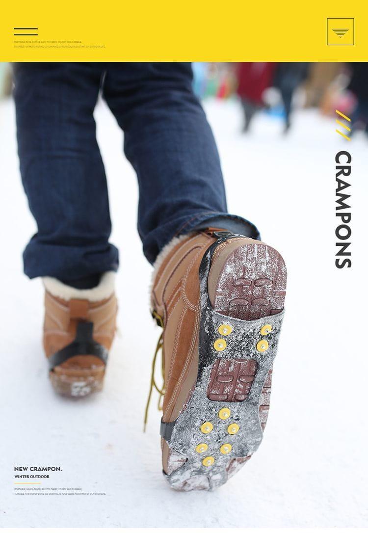 十爪冰雪地防滑防摔鞋套 17