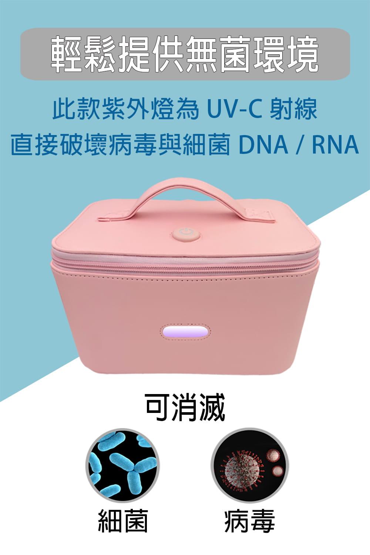 【勝利者】LED.USB紫外線殺菌袋消毒包 3