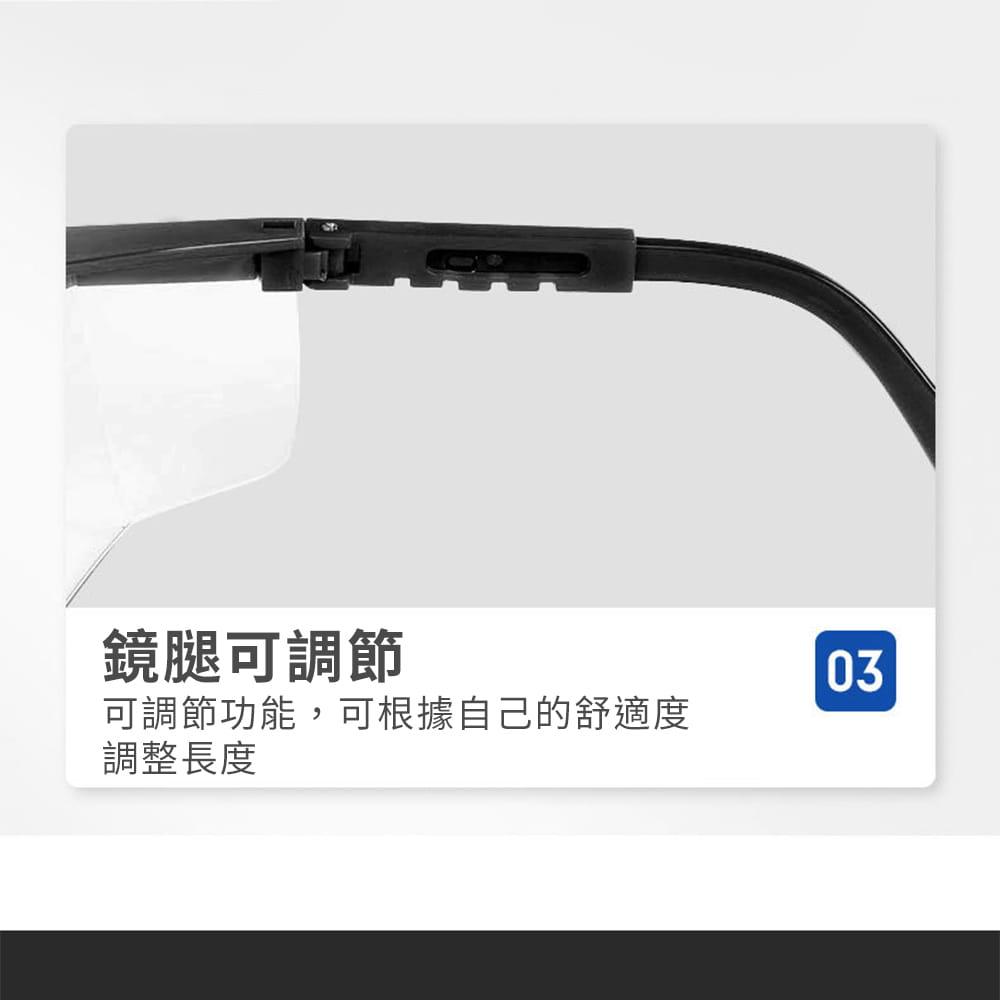 【JAR嚴選】多功能防疫防塵護目鏡(防飛沫) 18