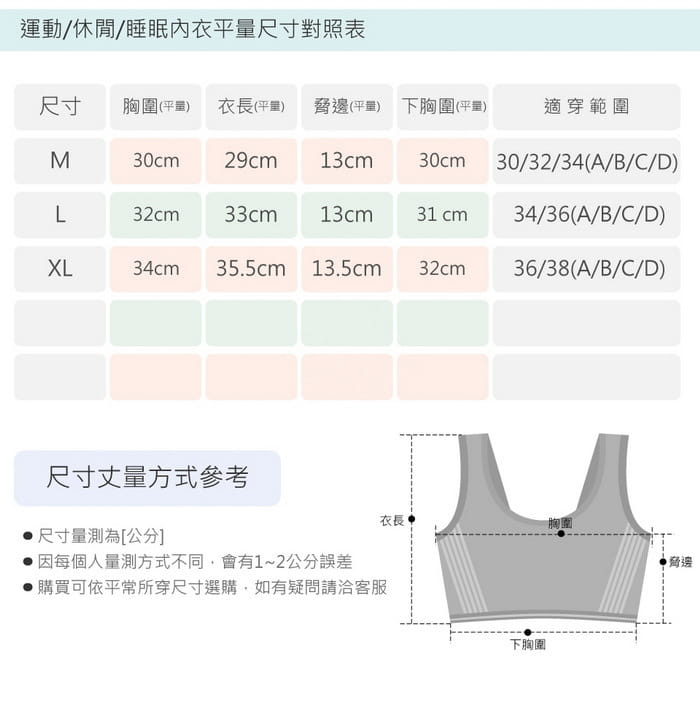 【伊黛爾內衣】動感甜心罩杯式無鋼圈運動胸罩 18