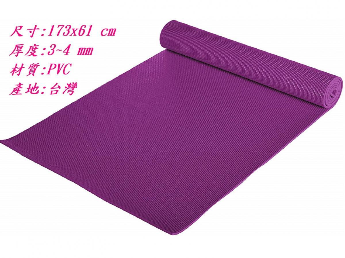 【u-fit】優質素色瑜珈墊 2