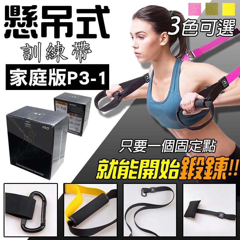 家庭版P3-1 懸掛式訓練帶 核心肌群 TRX 健身