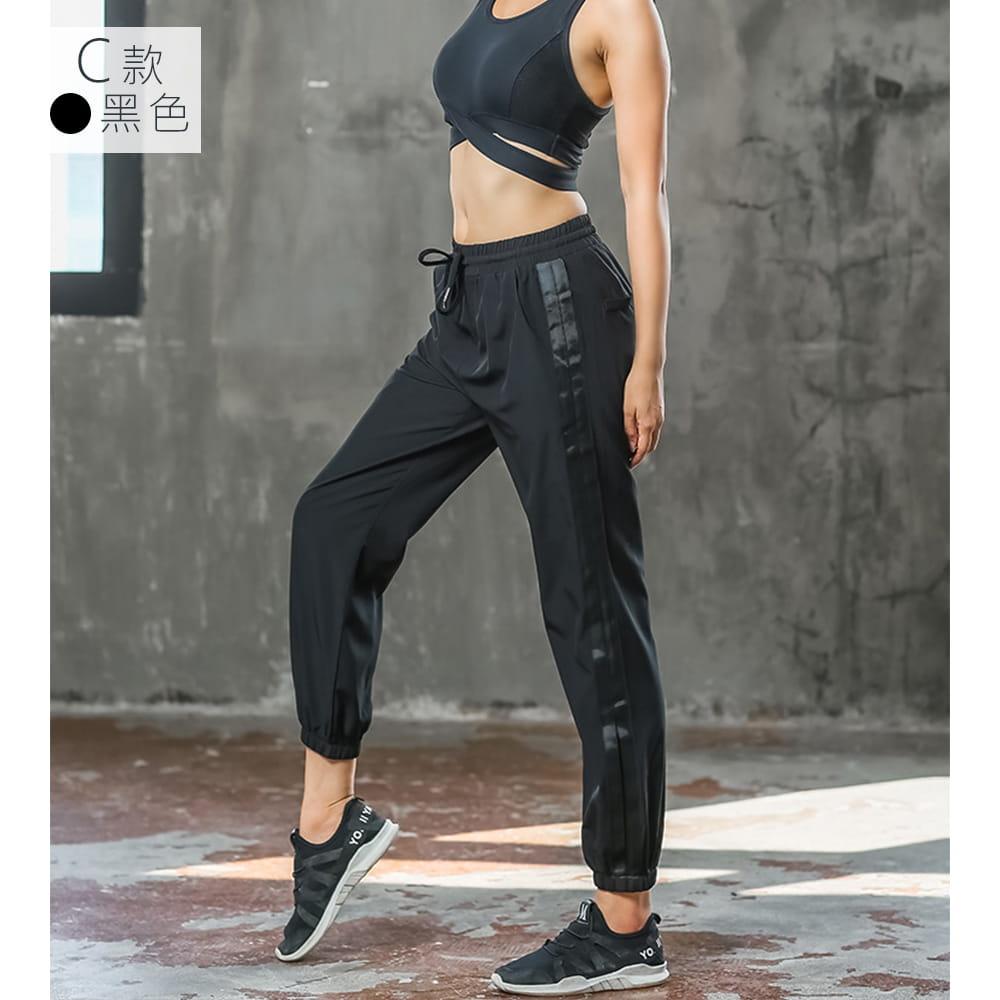 【NEW FORCE】簡約時尚彈力女運動束口長褲-多款多色可選 13