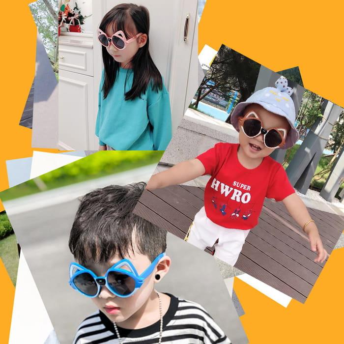 【suns】兒童偏光墨鏡 狐狸貓造型 抗UV (可扭鏡腳 鑑驗合格) 3