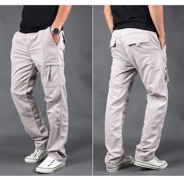 超彈力耐磨多口袋工作褲 11