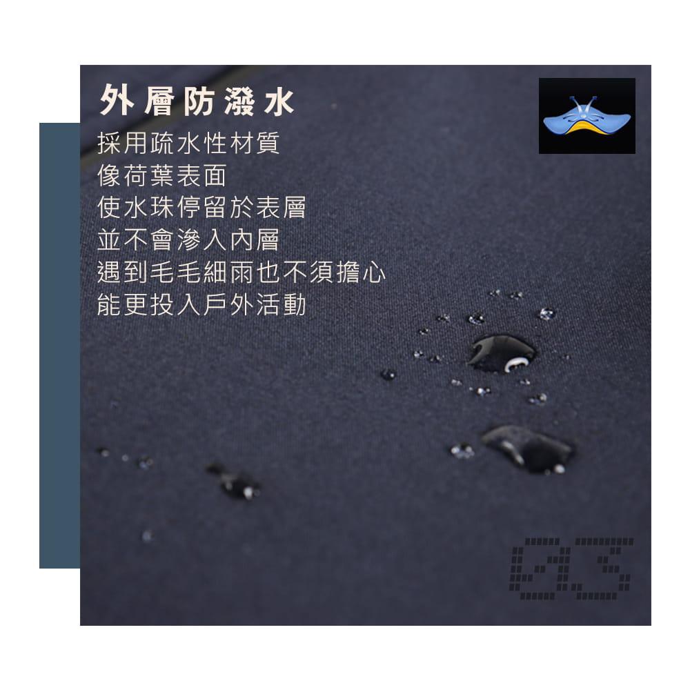 【NEW FORCE】男女款防風聚熱刷毛連帽外套-男女款 3