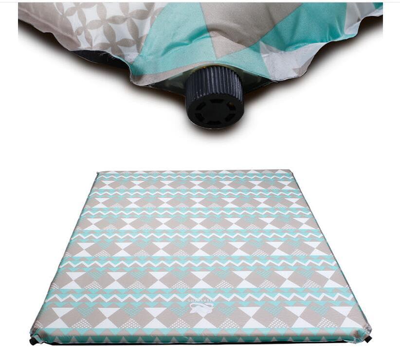 新款加大自動充氣墊野餐露營帳篷墊雙人睡墊