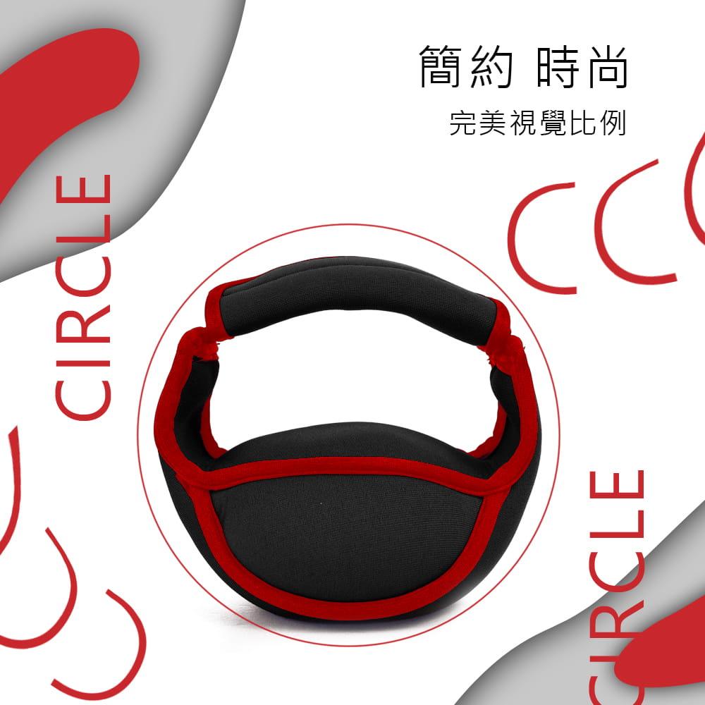【MACMUS】單握把式軟式壺鈴|3公斤 4