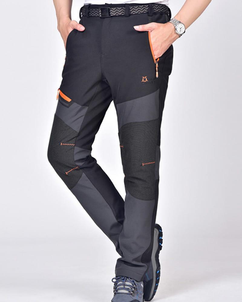 【加絨加厚】拼色防風防水衝鋒褲 戶外機能工作褲【CP16007】 10