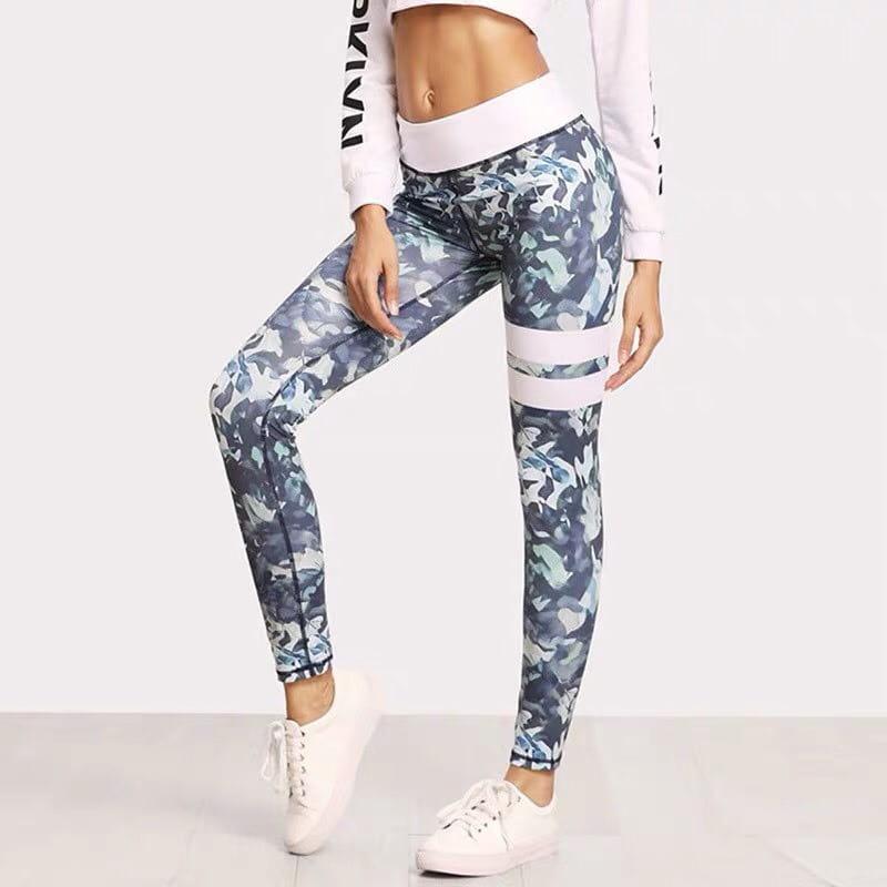 運動休閒長褲韻律有氧跑步瑜珈-KOI 顯瘦修身 (臀部視覺縮小) 2