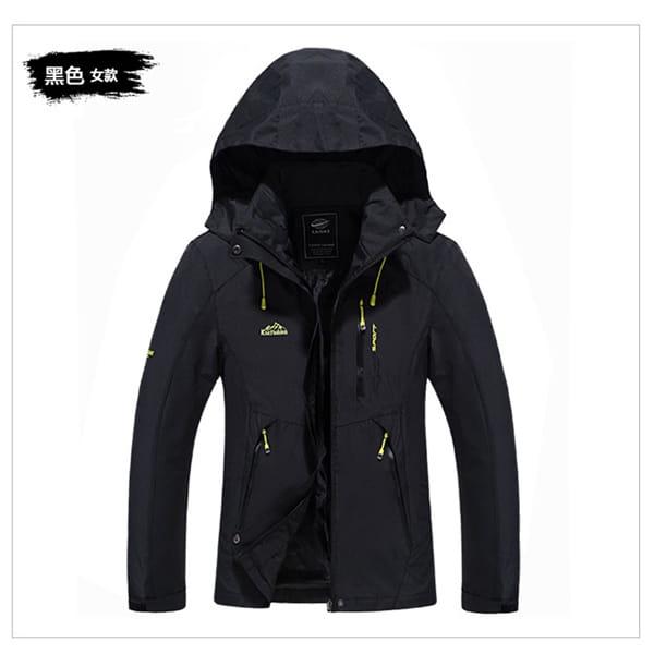 男女戶外機能防風防水衝鋒外套 14