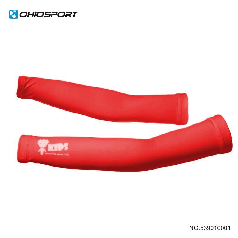 【OHIOSPORT】基本型兒童袖套 》★果綠 ★紅色 539010001 1