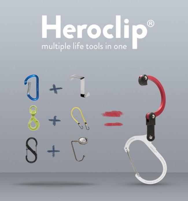 HEROCLIP Mini 多功能扣環掛鉤 (特殊款) 1
