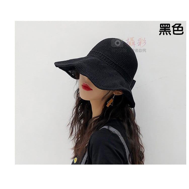 女用空頂遮陽帽 9