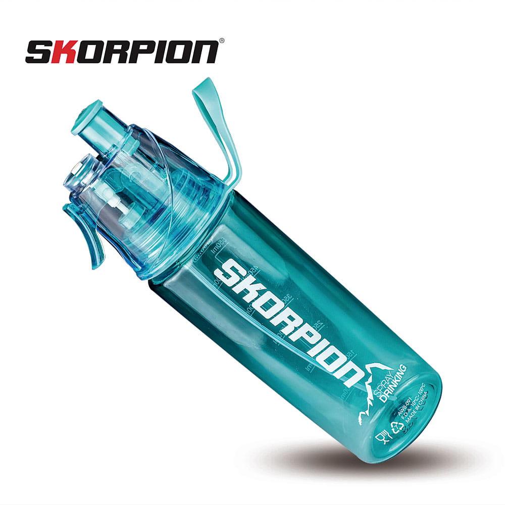 【SKORPION】無毒檢驗 噴霧式運動水壺