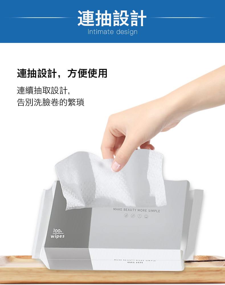 【防疫必備】SGS親膚純棉防疫口罩墊片棉柔巾 100片/包 11