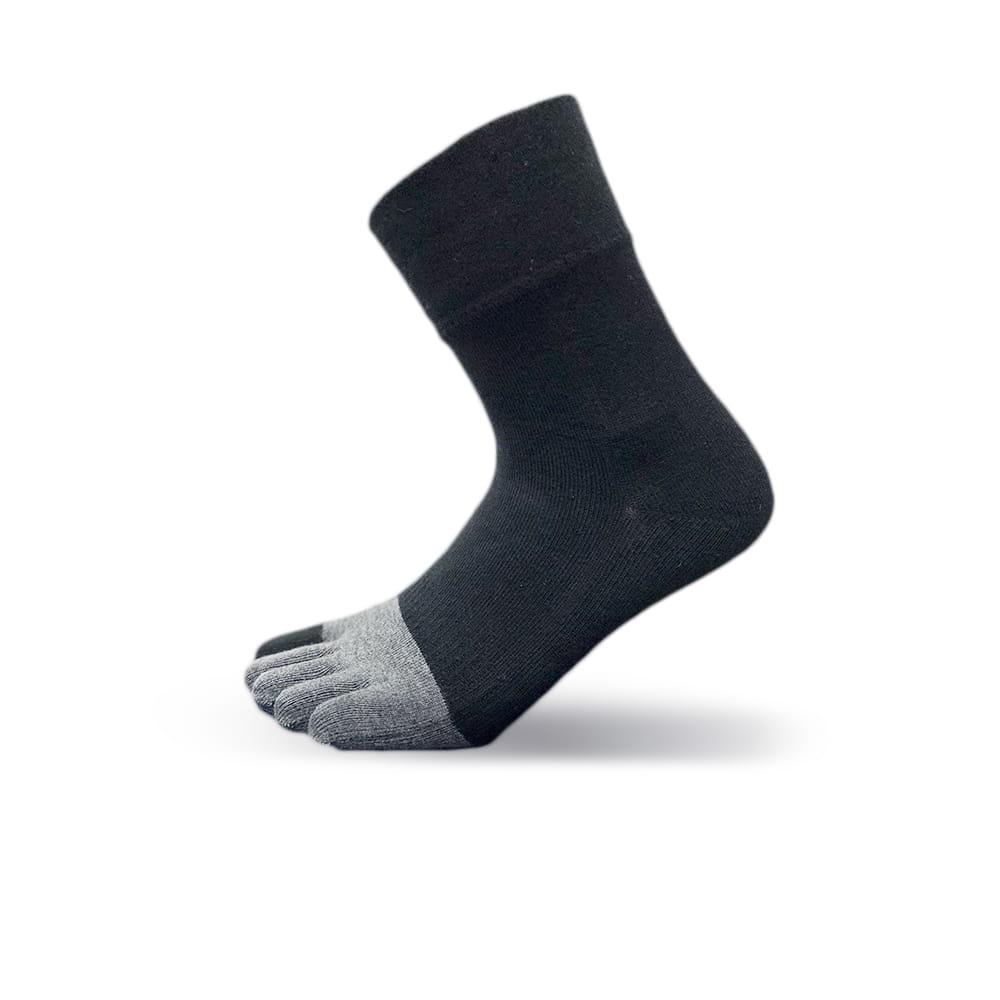 [WALKPLUS]寬口無痕紳士五指襪 1