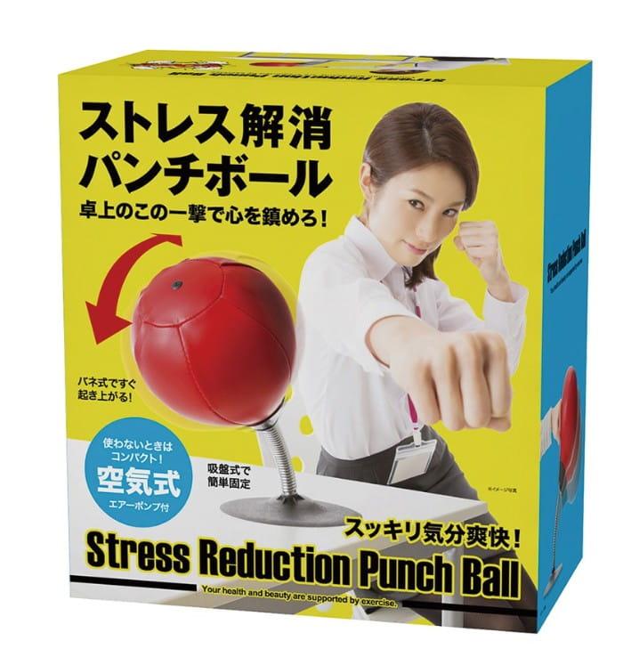 【SUNFAMILY】日本進口 解除壓力拳擊球 5
