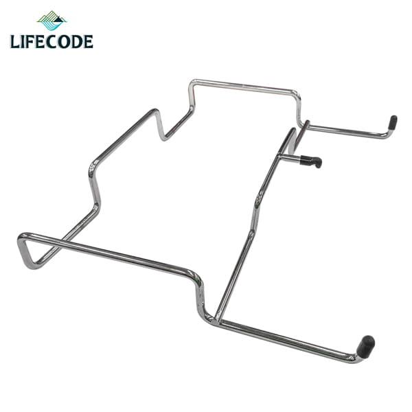 【LIFECODE】桌邊收納網架/垃圾袋架(不鏽鋼製) 0