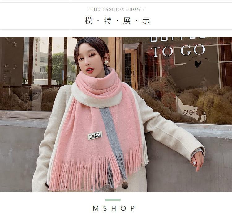 【JAR嚴選】時尚秋冬必備韓版情侶款保暖圍巾 16