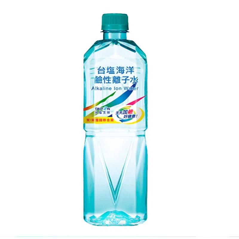 台鹽海洋鹼性離子水600ml(24瓶/箱)  -02