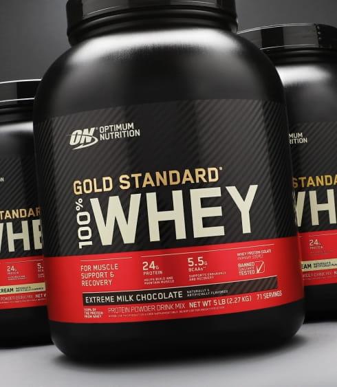 【ON 歐恩】[美國ON官方授權經銷] 金牌乳清蛋白 5磅 Whey 100% 乳清 高蛋白 0
