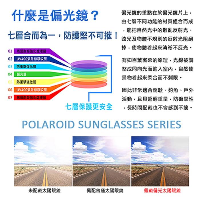 運動休閒上翻式偏光太陽眼鏡 (可套鏡) 1