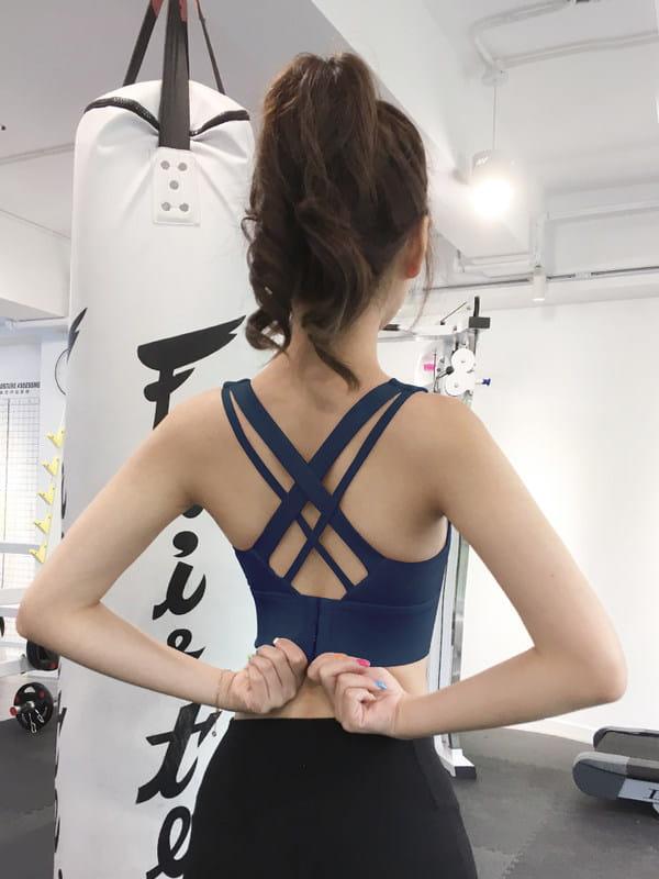 運動內衣女春夏款防震聚攏瑜伽背心跑步健身網紅外穿美背 0