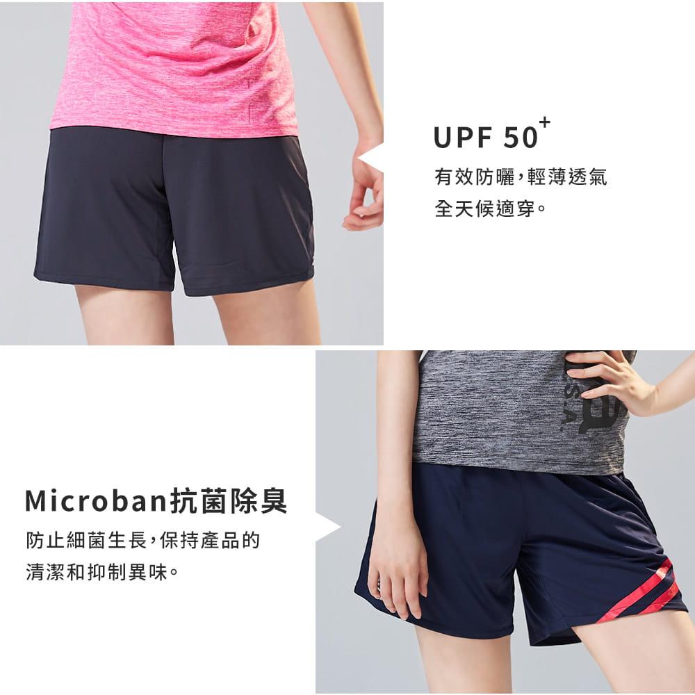 Kaepa速乾透氣機能褲-女條紋 4