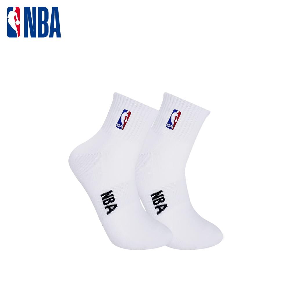 【NBA】 經典刺繡束腳底網眼毛圈短襪 1