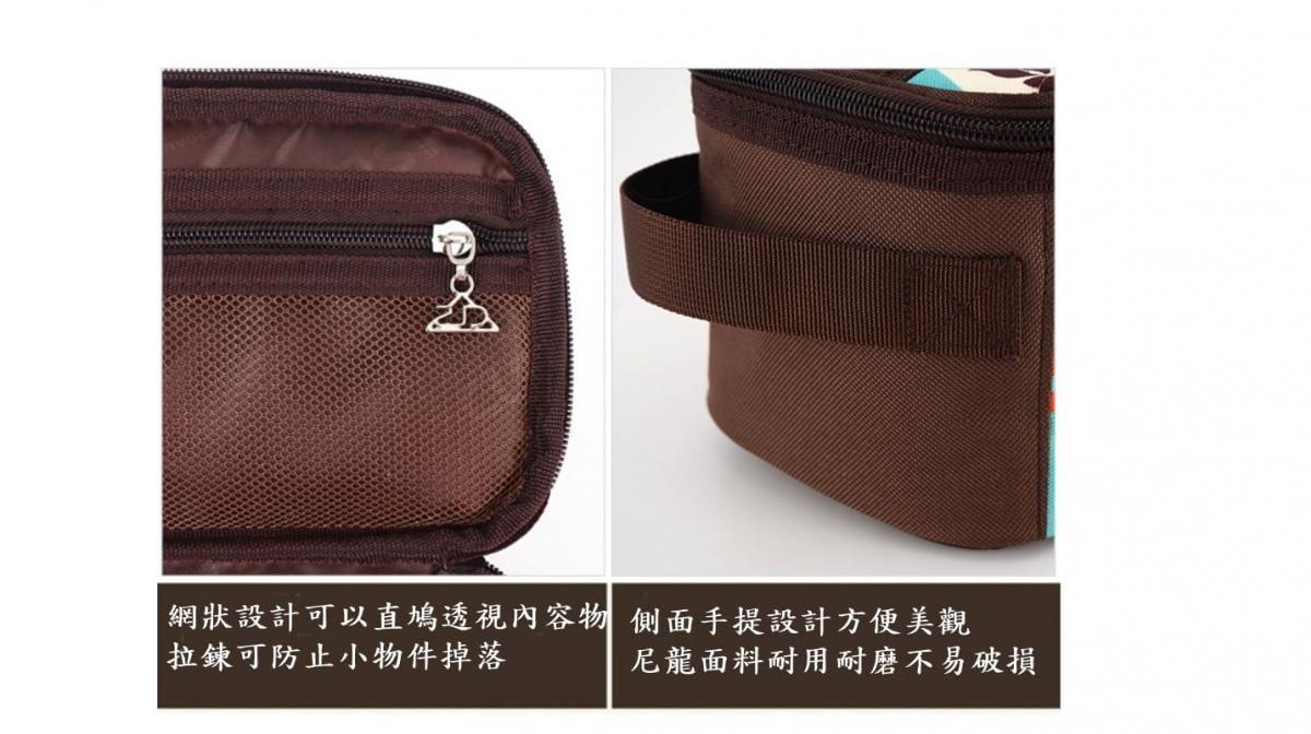 【CAIYI 凱溢】Caiyi 戶外野營炊具收納包 露營燒烤餐具收納袋 旅行化妝包 便攜洗漱包 2