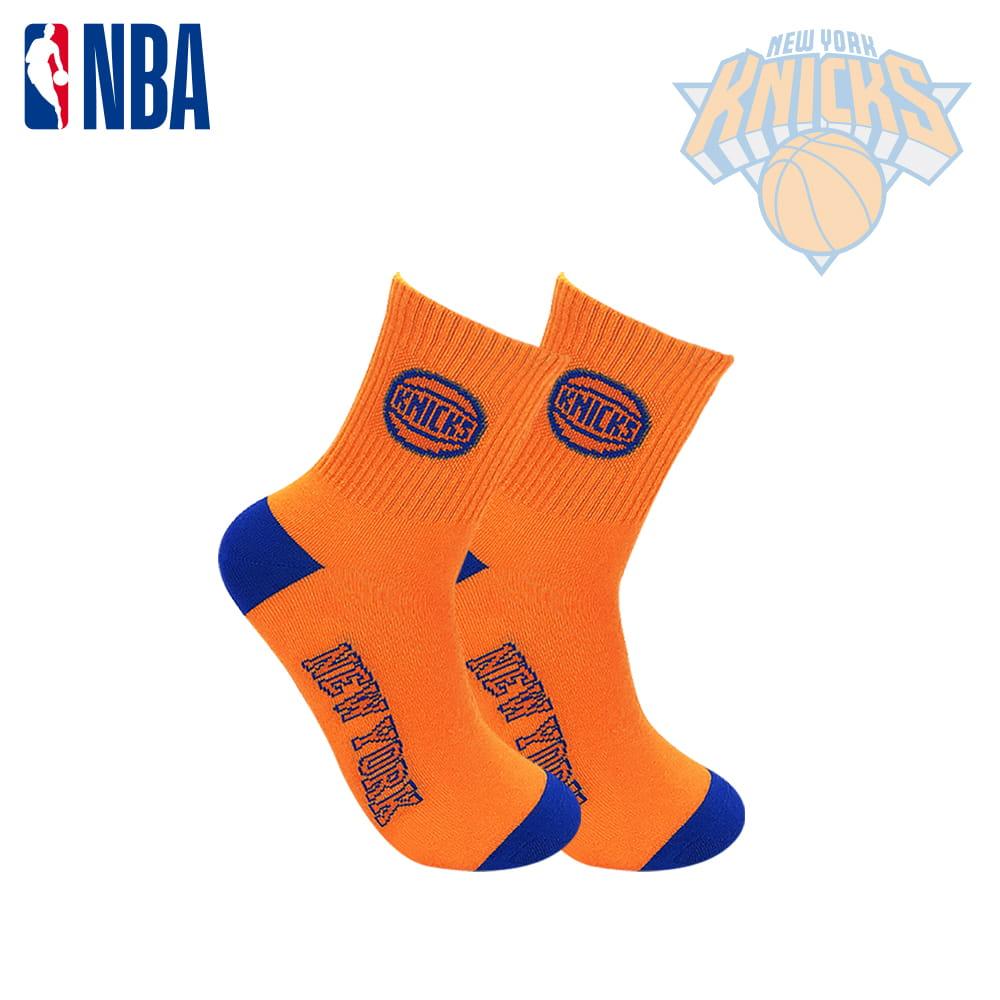 【NBA】球隊款緹花中筒襪 7