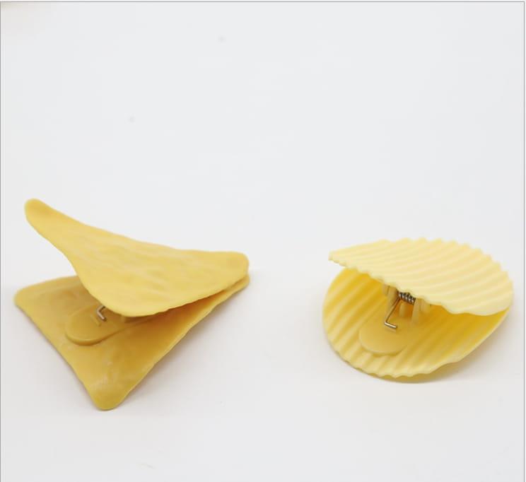 【高品質】洋芋片造型夾5入 封口夾 2