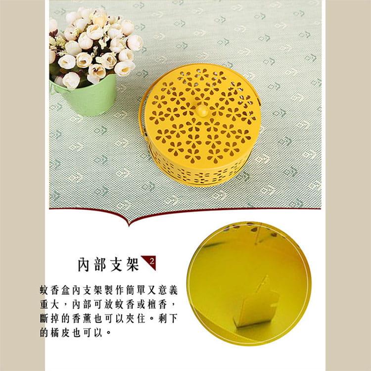 【JAR嚴選】帶蓋安全古典雅致風香薰盒蚊香盒 2